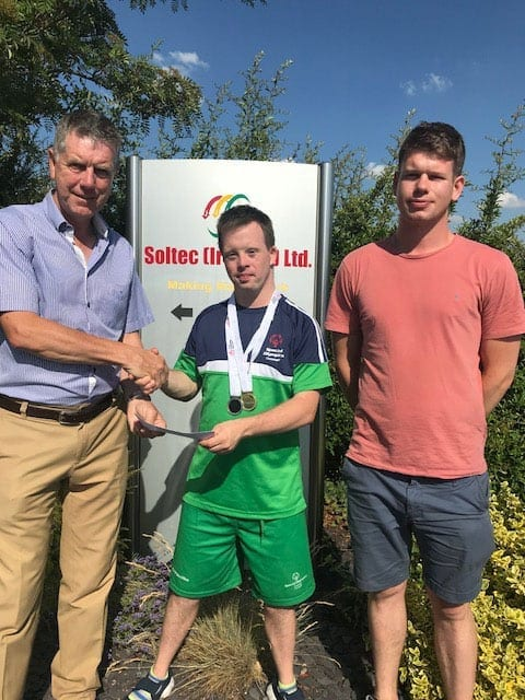 Soltec are proud to be part of the sponsors for the Irish Special Olympic Team
