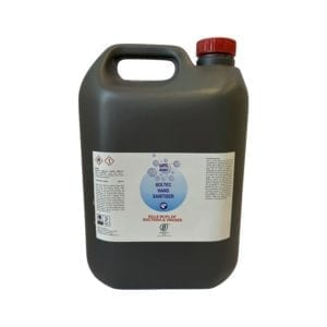 Image of a large bottle of high alcohol hand sanitiser available to buy from Soltec.ie