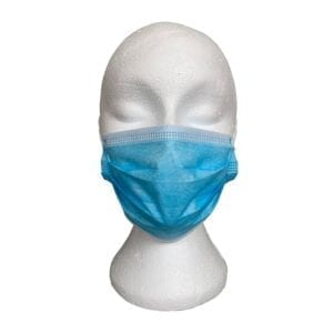 Image of a protective disposable facemask available to buy from Soltec Ireland